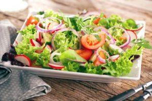 Salat zum Raclette